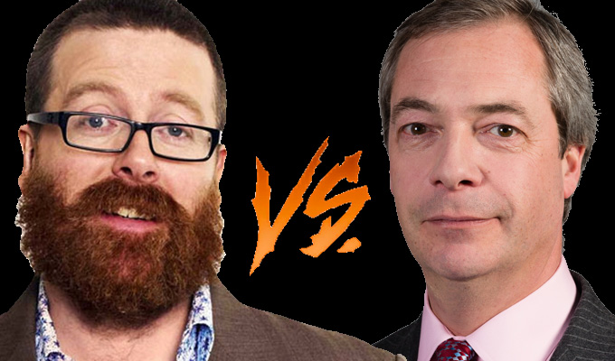 Now it's Boyle vs Farage | Andrew Lawrence flame war rages on...