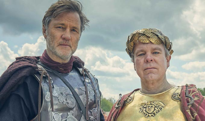Steve Pemberton joins Britannia | As Emperor Claudius