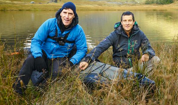 Rob Brydon roughs it with Bear Grylls | 'If I have to die anywhere, it should be here'
