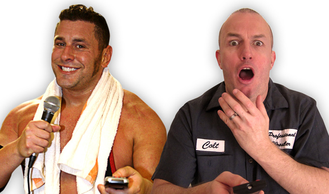 Brendon Burns and Colt Cabana Do Comedy and Commentary to Bad Wrestling Matches!