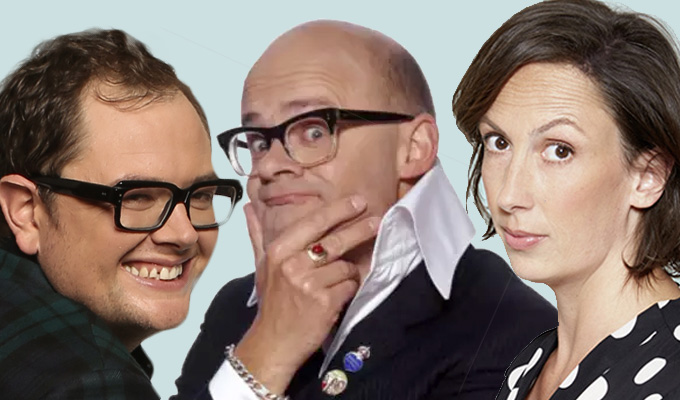 C4 plans new shows with Miranda Hart, Alan Carr and Harry Hill | Entertainment shake-up ahead