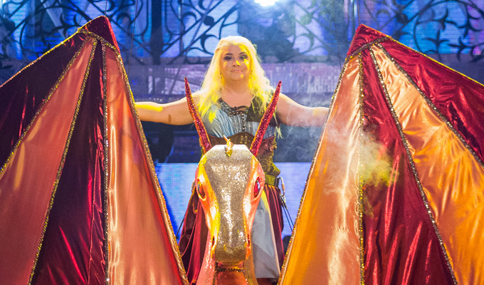 Susan Calman channels Game Of Thrones in Strictly | ...but it's the judges who are breathing fire