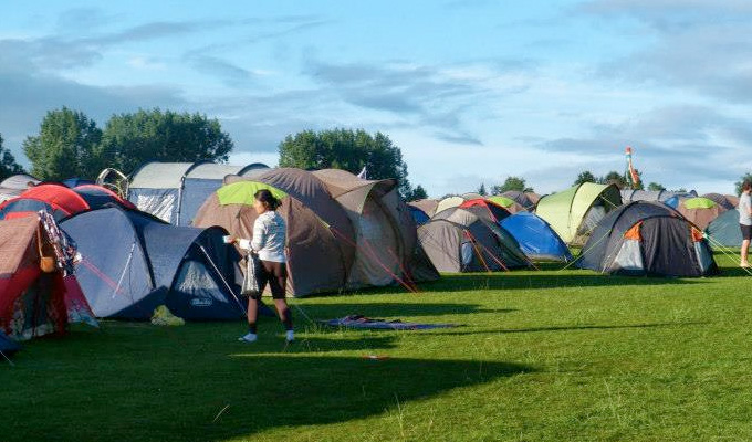 Could this solve Fringe accommodation crisis? | Festival campsite planned for Edinburgh