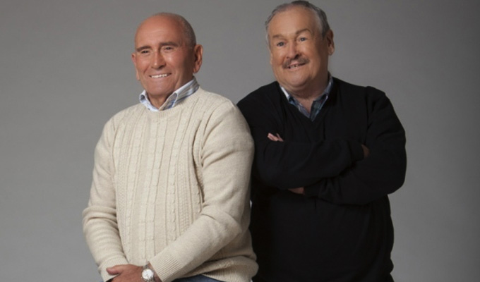 Cannon and Ball play Vegas | For a new ITV show with other 1980s comics