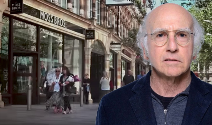 How did Cardiff end up in Curb Your Enthusiasm? | Fans baffled by bizarre cutaway shot
