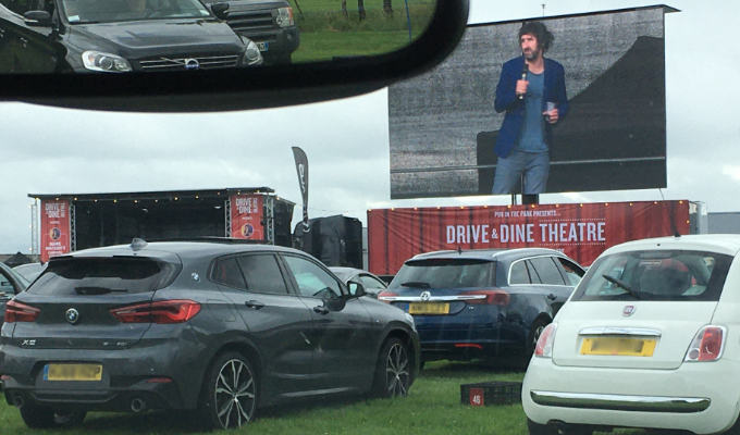 Mark Watson's Carpool Comedy | Gig review by Steve Bennett at Bath Racecourse