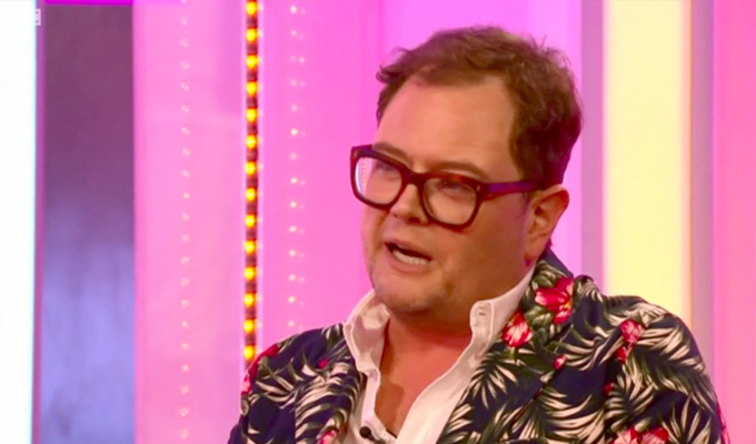 Alan Carr: I got married in Adele's back garden | Singer arranged everything...