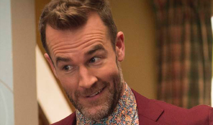 'I am so friggin' American' | James Van Der Beek on new Sky1 comedy Carters Get Rich