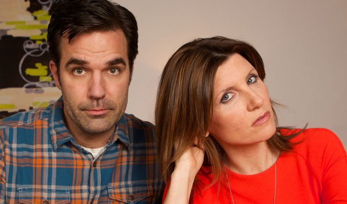 Catastrophe to hit C4 | Rob Delaney and Sharon Horgan sitcom ordered