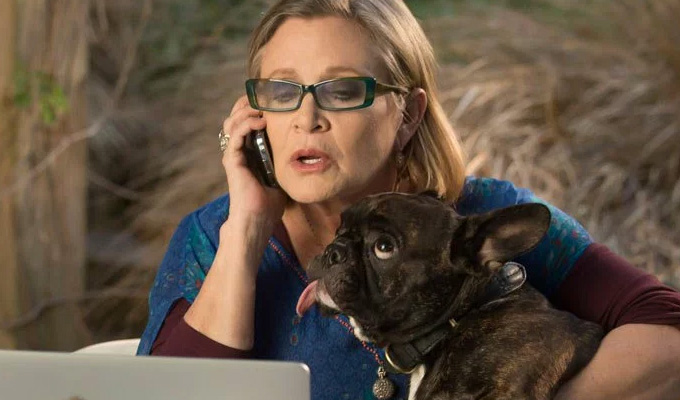 Carrie Fisher up for an Emmy | Posthumous honour for her role in Catastrophe