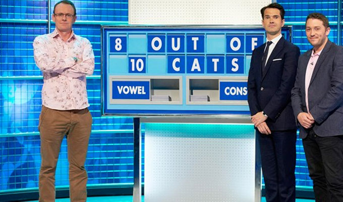 8 Out Of 10 Cats get another nine lives | ...well, episodes. Plus more Countdown specials