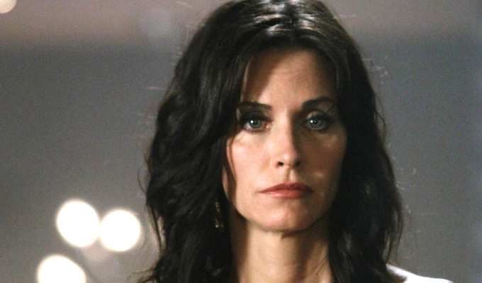 Courtney Cox works on ITV sitcom | As a new age guru