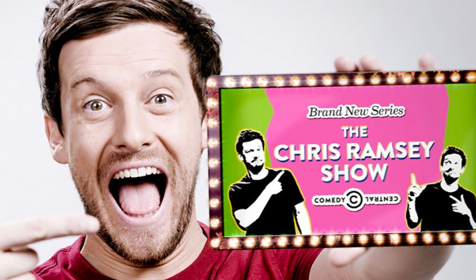 Comedy Central sets return date for Chris Ramsey Show | First guests also revealed
