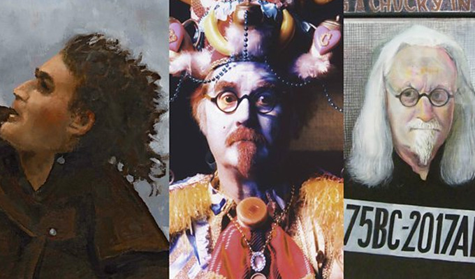 The very Big Yins: Glasgow to get three giant Billy Connolly murals | Well, he always was off-the-wall...