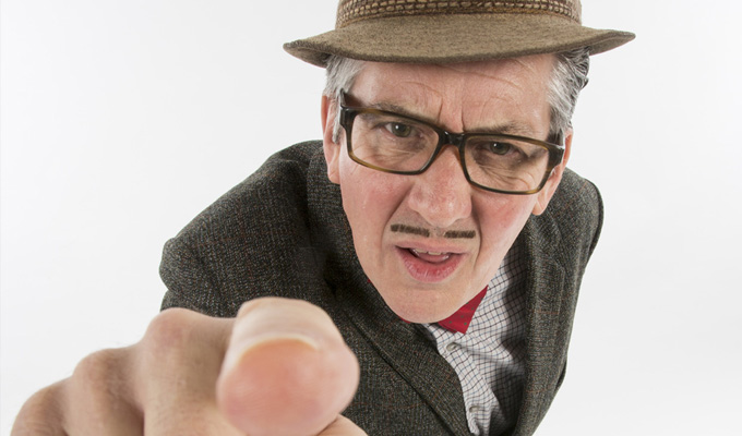 Through It All I've Always Laughed by Count Arthur Strong | Book review by Steve Bennett
