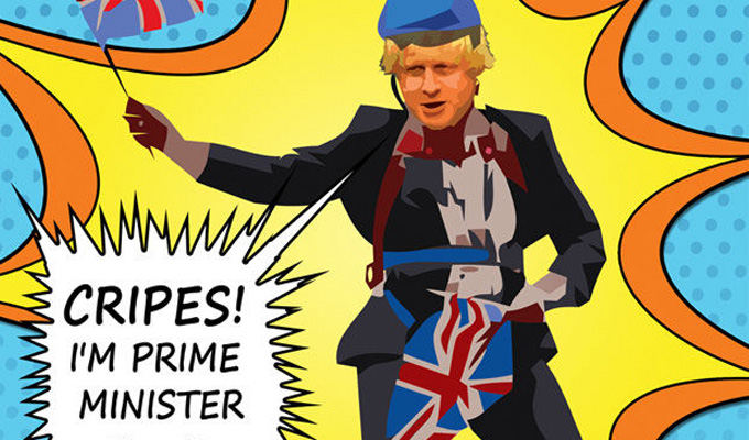 Cripes! I'm Prime Minister | Review by Steve Bennett at the Canal Cafe Theatre, London