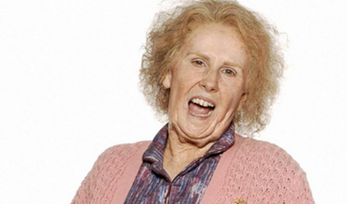 Catherine Tate's Nan to become a movie star | Comic writes a script for her enduring creation