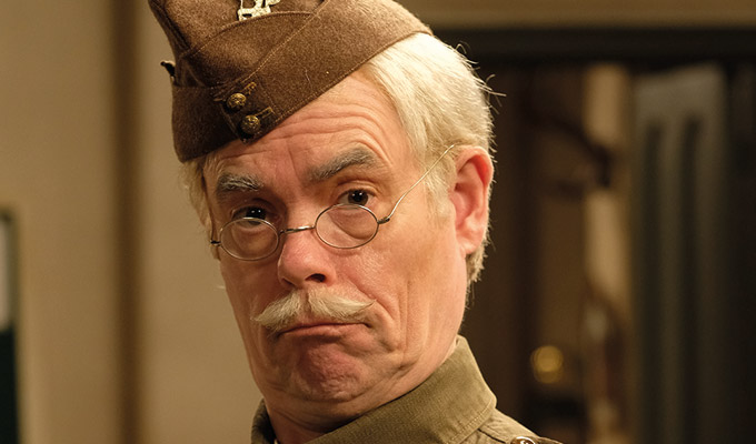 We're not trying to improve on the unimprovable | Kevin Eldon on playing Lance-Corporal Jones in Dad's Army
