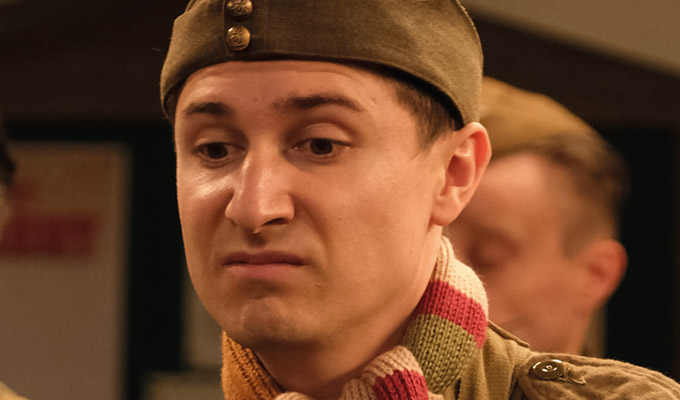 'I'm just in the background trying not to laugh' | Tom Rosenthal on playing Pike in the Dad's Army remake