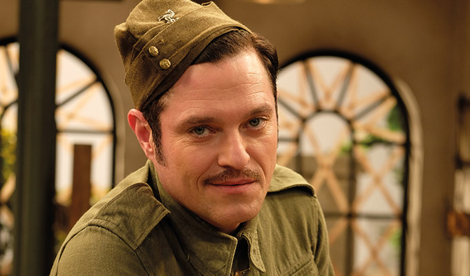'I didn't want to do an impersonation' | Mathew Horne on playing Private Walker in the Dad's Army remake