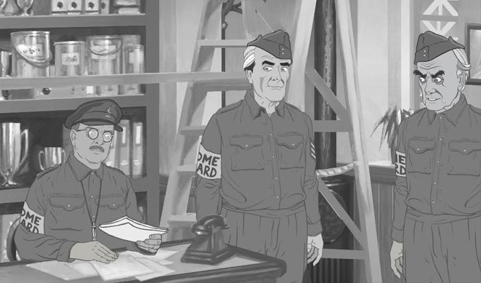 Lost Dad's Army episode to be released as an animation | Missing for nearly 50 years