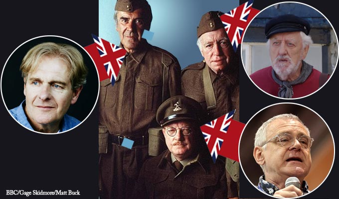 Revealed: The stars of the new Dad's Army remake | Mainwaring, Wilson and Godfrey have been cast