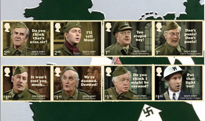 Royal Mail issues Dad's Army stamps | To mark 50 years of the sitcom