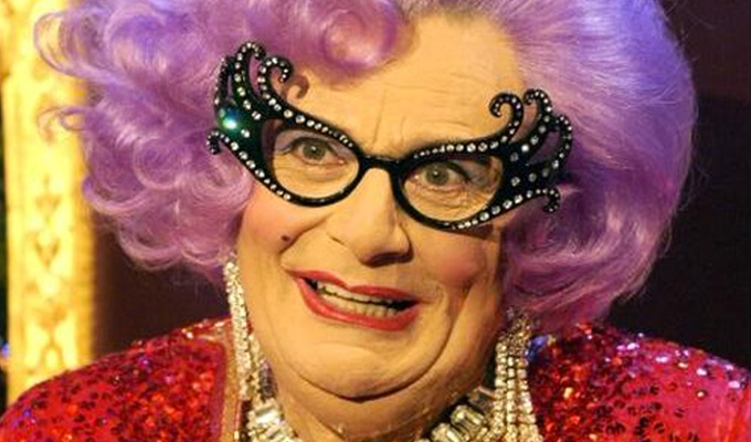 Dame Edna makes a TV comeback | BBC One orders a one-off special set on her 'luxury yacht'