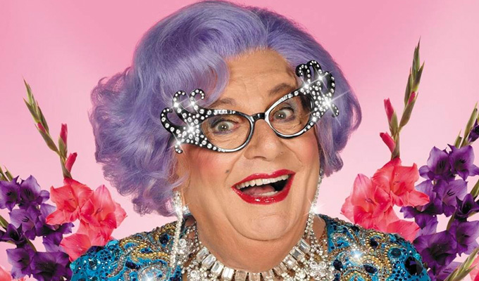 Barry Humphries slams timid BBC | Dame Edna 'could only mock Corbyn if she ridiculed Cameron, too'