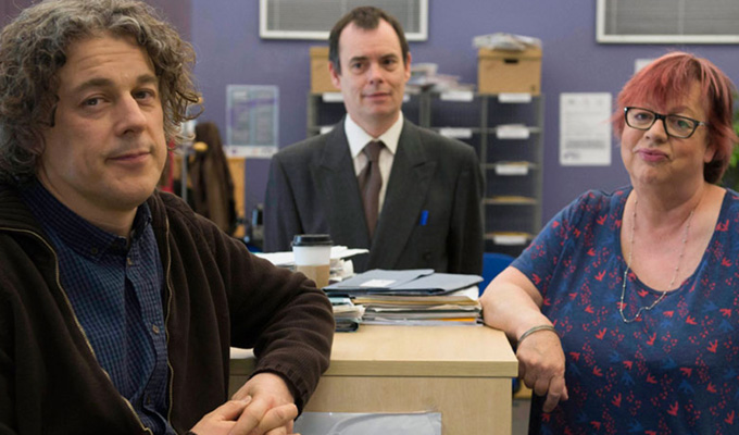 Channel 4 gets Damned | Social work sitcom with Jo Brand, Alan Davies and Kevin Eldon
