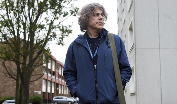 'It's two sides of the same coin, whether something's funny or sad.' | Alan Davies on the return of Damned