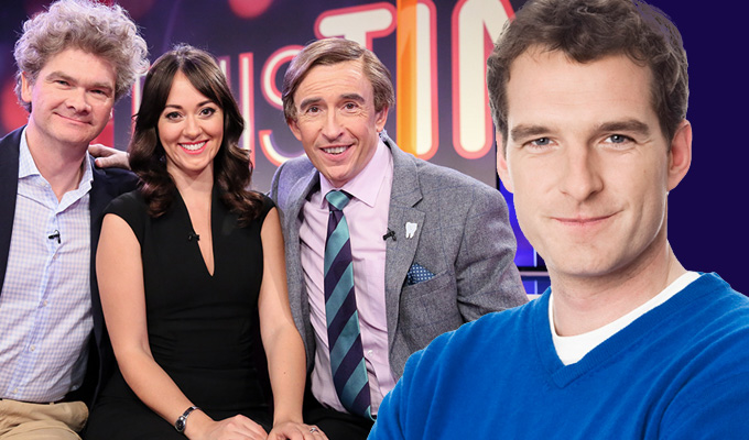 Dan Snow hits back at Alan Partridge's swipe | TV historian's Twitter response