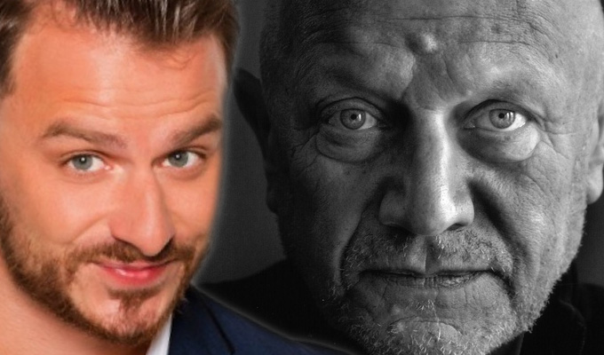Steven Berkoff co-stars in Dapper Laughs movie | Filming starts on Fanged Up