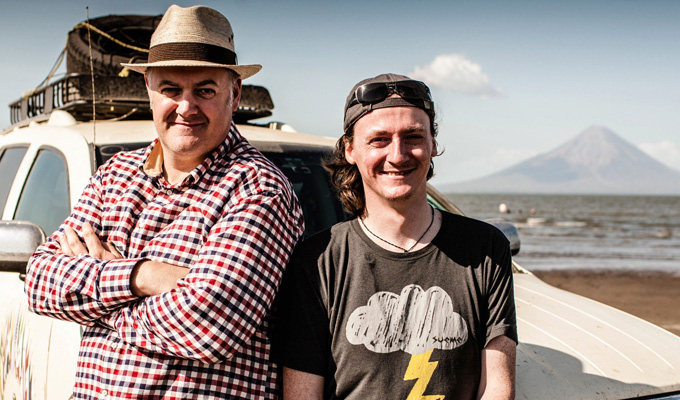 I refused to refer to a 'flood of immigrants' | Dara O Briain and Ed Byrne tell Jay Richardson how their background informed their epic American trip
