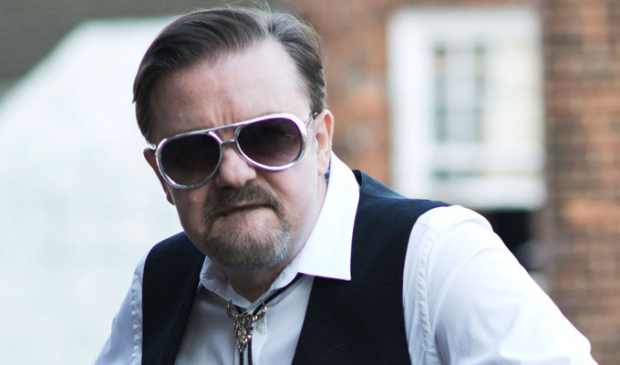 Ricky Gervais announces David Brent gigs | Two nights at Hammersmith Apollo