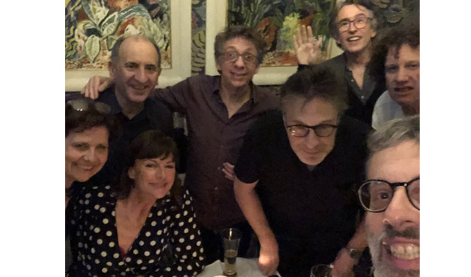 The Day Today stars reunite... but only for dinner | 'Mostly we talked about reading glasses...'