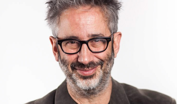 David Baddiel takes over C4 continuity announcements | In the name of of dementia awareness
