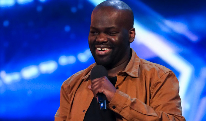 Daliso's got talent! | Comic makes it through to BGT finals
