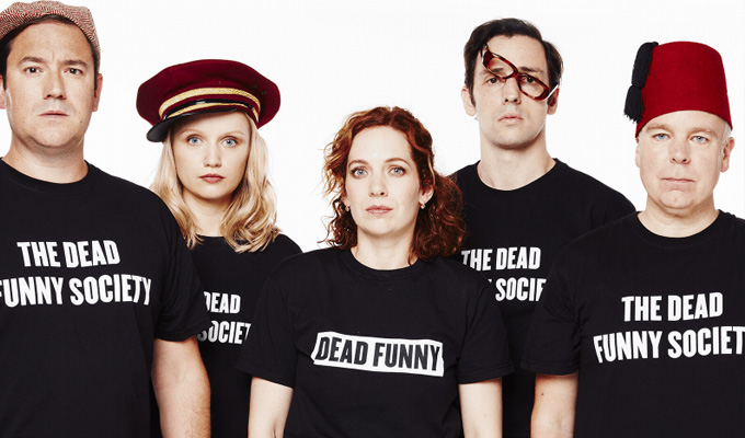 Win a trip to see top comedy stars in Dead Funny | Premium tickets and overnight stay