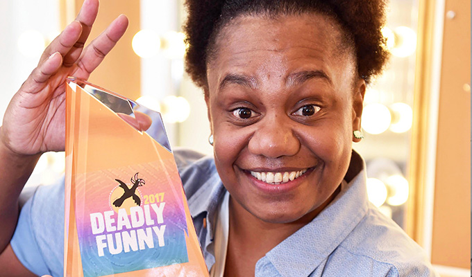 Ghenoa dances off with the Deadly title | Victory in Australia's Indigenous comedy competition