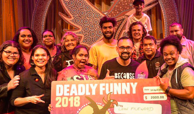 Deadly Funny 2018 | Melbourne comedy festival review by Steve Bennett