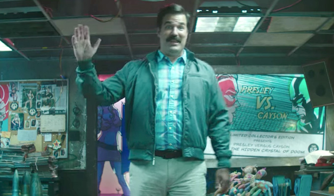 More clues to Rob Delaney's Deadpool 2 character | ...and he DOESN'T have superpowers