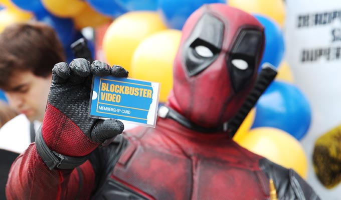 Blockbuster Video is back! | Thanks to Deadpool 2