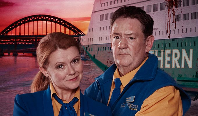 'It's always a pleasure to work with Sian even though she can't remember it...' | Johnny Vegas and Sian Gibson on Death On The Tyne