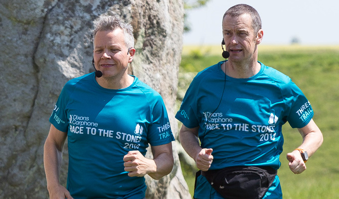 A long-running joke | Paul Tonkinson and Rob Deering create a podcast for 100km race