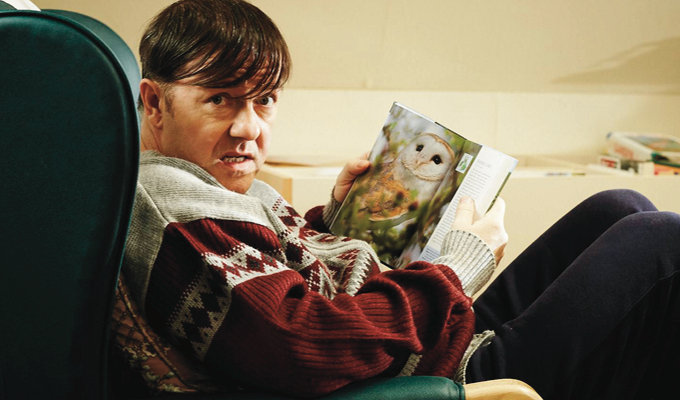 'He reminds me of being eight, before I worried about what was cool' | Ricky Gervais on the return of Derek Noakes