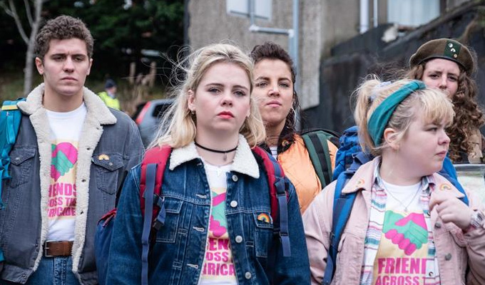 Another award for Derry Girls | C4 show named best comedy in industry awards