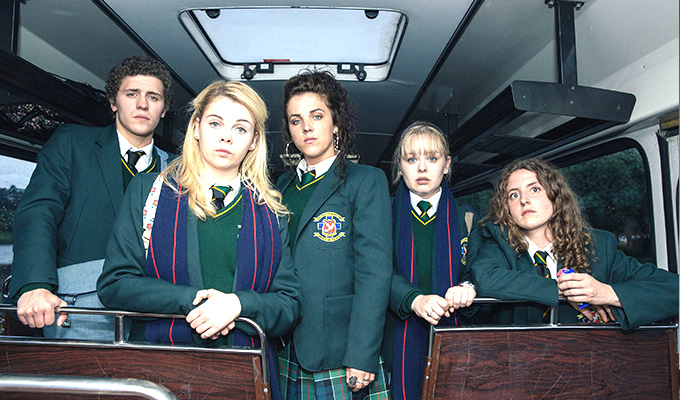 Derry Girls scoops Broadcast Award | 'An original take with excellent cast'