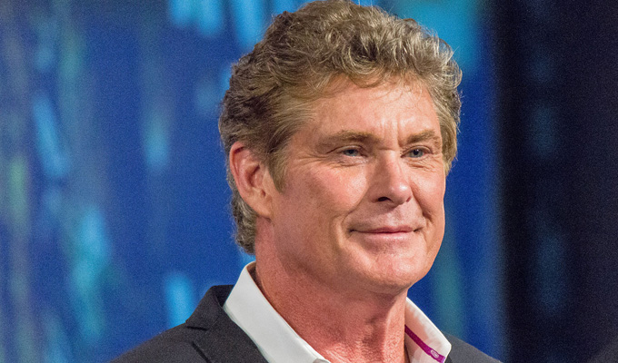 Hoff the cuff... | David Hasselhoff to star in UK mockumentary series