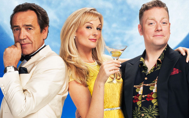 Rufus Hound leaves Dirty Rotten Scoundrels